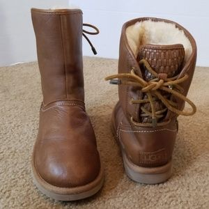 Nice UGG leather short boots